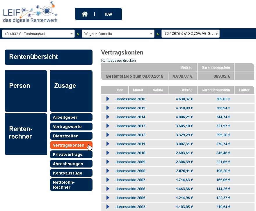Screenshot2_Website VdW Vorsorgemanagement_Leistungen_bAV goes digital